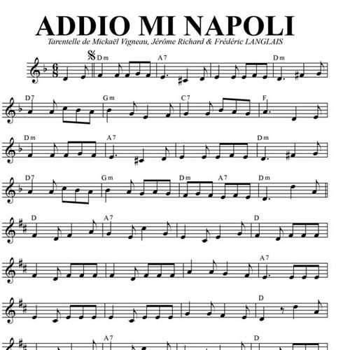 Addio Mi Napoli