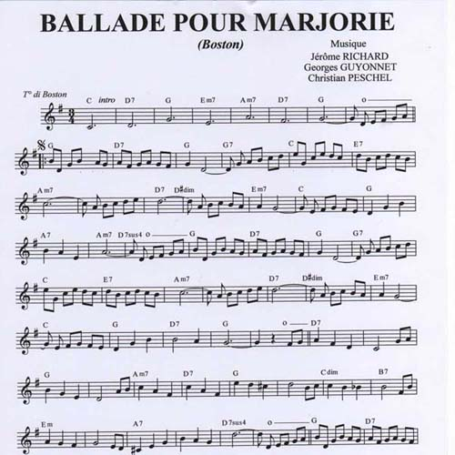 Ballade Pour Marjorie