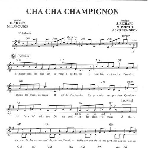 Cha Cha Champignon