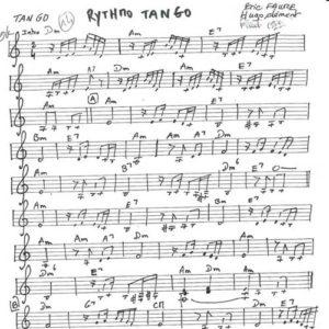Rythmo Tango