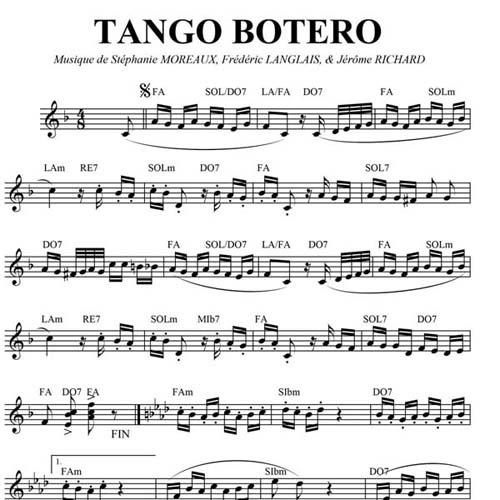 Tango Botero