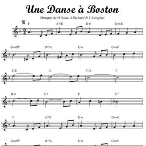 Une Danse À Boston