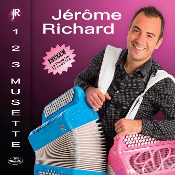 CD Jérôme Richard Le Meilleur Des Émissions TV 1 2 3 Musette