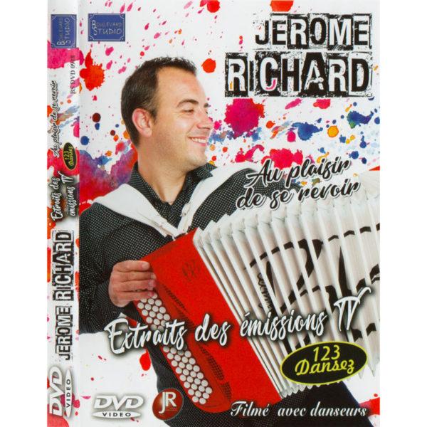 DVD-Jérôme-Richard-Extraits-des-émissions-TV-123-Dansez-recto